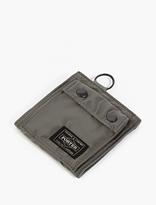 Porter Silver Nylon Wallet
