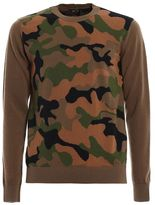 N°21 N.21 Camouflage Jersey