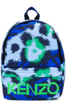 Kenzo Tiger logo print backpack
