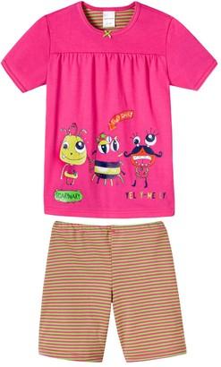 Schiesser Girl's Md Schlafanzug Kurz Pyjama Set