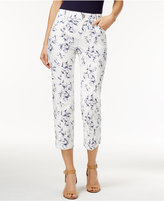 Style&Co. Style & Co. Printed Capri Pants, Only at Macy's