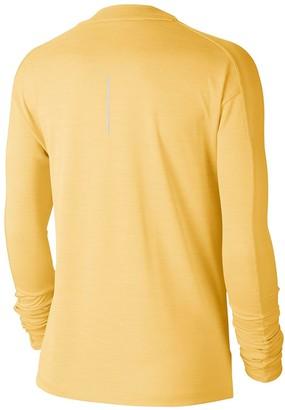 Nike Running Pacer Long SleeveTop - Topaz Gold