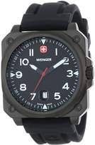Wenger Men's AeroGraph 72424 Rubber Swiss Quartz Watch with Dial