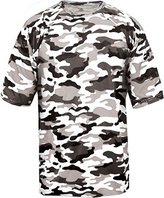 Badger Adult Camo Tee 4181 -White Camouf L
