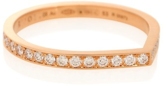 Repossi Antifer 18kt rose-gold and diamond ring