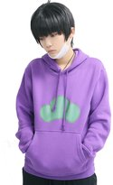 XCOSER Unisex Costume Osomatsu Cosplay Cotton Pullover Hoodie 2016 Rose XL