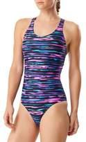 Speedo One-Piece Four-Way Stretch Performance Swimsuit