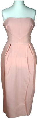 Roksanda Ilincic Pink Wool Dress for Women