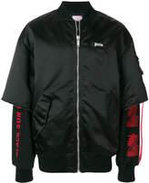 Palm Angels Prayer bomber jacket