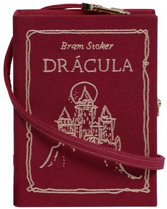 Olympia Le-Tan Dracula Mini Book Clutch Bag