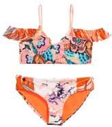 Maaji Girl's Tropic Cay Two-Piece Reversible Swimsuit
