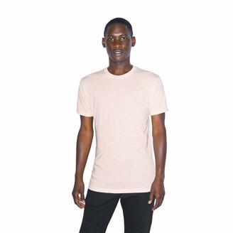 American Apparel Men's Tri-Blend Crewneck Short Sleeve Track T-Shirt 2-Pack