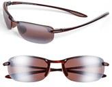 Maui Jim Men's 'Makaha - Polarizedplus2' 63Mm Sunglasses - Tortoise/ Rose
