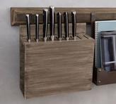 Pottery Barn Kitchen Rail System, Knife Holder