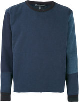 Longjourney patched sweatshirt