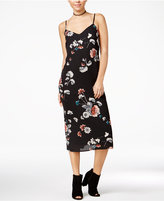 Material Girl Floral-Print Midi Slip Dress, Only at Macy's