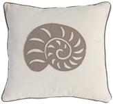 A&B Home 18 x 18 Sea Shell Pillow