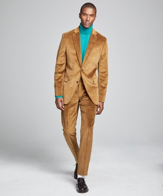 Todd Snyder Italian Stretch Cord Sutton Suit Jacket in Camel