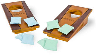 Mini A Ture Viva Sol Miniature Version of Classic Bean Bag Toss Game Perfect for a Desk or Table