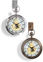 The Well Appointed House Clock with Hook-Available in Two Different Finishes