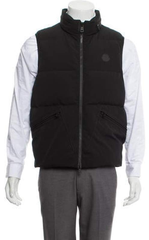 9bd3a2ea6 Quilted Down Vest black Quilted Down Vest