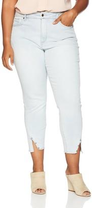 NYDJ Women's Plus Size Ami Skinny Ankle with Twisted Sideseam