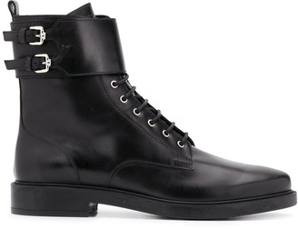 Tod's Leather Lace-Up Boots