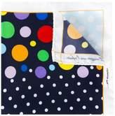 fe-fe multiple dots pocket square