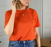 Rock On Ruby Embroidered Lightning Bolt T Shirt