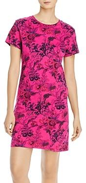 Pam & Gela Floral-Print Tee Dress