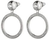 Eddie Borgo Voyager Hoop Drop Earrings