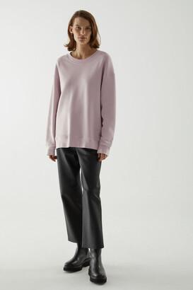Cos Organic Cotton Relaxed Sweatshirt