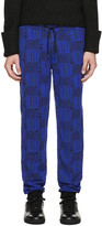 Kenzo Black and Blue Love Lounge Pants