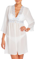 linea donatella Dawn Sheer Chiffon Bridal Robe