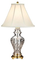 Waterford Glengariff Lead Crystal Table Lamp