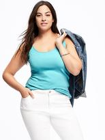 Old Navy Fitted Rib-Knit Plus-Size Tank