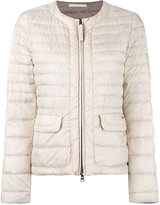 Woolrich contrast padded jacket - women - Polyamide/Feather/Duck Feathers - XS