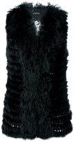 Twin-Set fur vest
