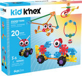 KID KNEX - Zoomin Rides Building Set - 65 Pieces - Ages 3 and Up - Preschool Education Toy