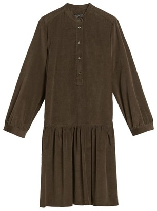 Max Mara Corduroy Midi Dress