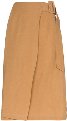 ST. AGNI Cella wrap skirt