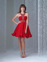 Madison James - 16-335 Dress in Red