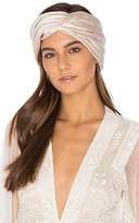 Eugenia Kim Malia Headwrap in Blush.
