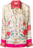 Pierre Louis Mascia Pierre-Louis Mascia - floral embroidered blouse
