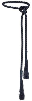 Max Mara Rope Belt - Navy