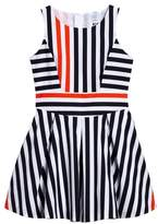 Milly Minis Stripe Fit & Flare Dress