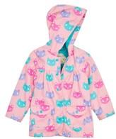 Hatley Toddler Girl's Silly Kitties Print Raincoat