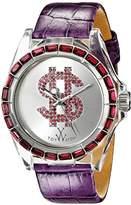 Toy Watch Unisex D12PR Analog Display Quartz Purple Watch