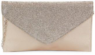 La Regale Crystal Flap Clutch