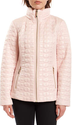 Kate Spade Bow-Quilt Moto Jacket